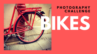 featured image thumbnail for post Bikes - Photography Challenge
