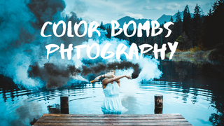 featured image thumbnail for post Color Smoke Bombs Photography Challenge