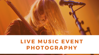 featured image thumbnail for post Live Music Event - Photography Challenge