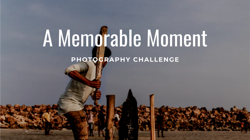 "featured image thumbnail for post ""A Memorable Moment"" - Photography Challenge"