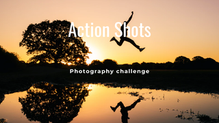"featured image thumbnail for post ""An Action Shot"" - Photography Challenge"