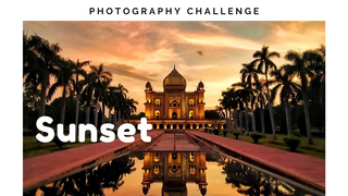 featured image thumbnail for post 'Sunset' photography challenge