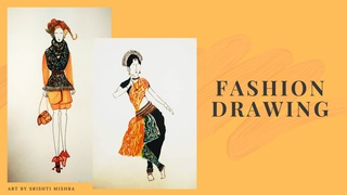 """featured image thumbnail for post """"Fashion Drawing"""" - Art Challenge"""
