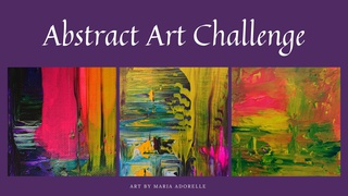 featured image thumbnail for post Abstract Art Challenge