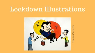 """featured image thumbnail for post """"Lockdown Illustrations"""" - Art Challenge"""