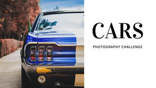 featured image thumbnail for post Car(s) Photography Challenge