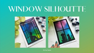 """featured image thumbnail for post """"Window Silhouette"""" Art Challenge"""
