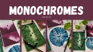 """featured image thumbnail for post """"Monochromes"""" Art Challenge"""