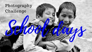 """featured image thumbnail for post """"Schooldays"""" - Photography Challenge"""