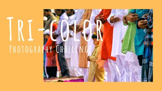 """featured image thumbnail for post """"Tri-color"""" - Photography Challenge"""