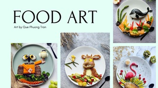 featured image thumbnail for post Food Art Challenge