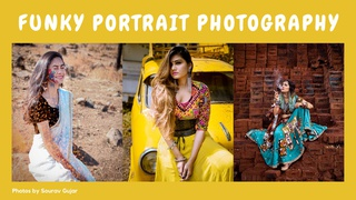 featured image thumbnail for post Funky Portrait photography Challenge