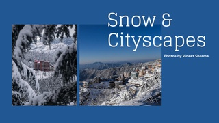 """featured image thumbnail for post """"Snow & Cityscapes"""" - Photography Challenge"""