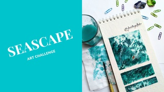 """featured image thumbnail for post """"Seascape"""" Art Challenge"""