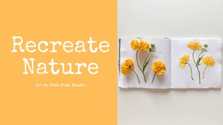 featured image thumbnail for post Recreate Nature - Art Challenge
