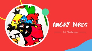 featured image thumbnail for post Angry Birds - Art Challenge