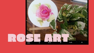 featured image thumbnail for post Rose - Art Challenge