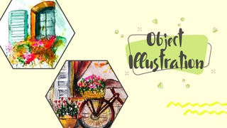featured image thumbnail for post Object Illustration - Art Challenge