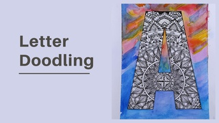 featured image thumbnail for post Letter Doodling - Art Challenge