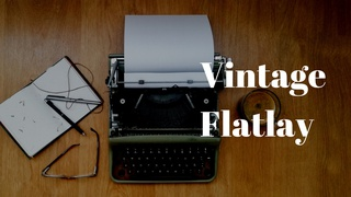 featured image thumbnail for post Vintage Theme - Flatlay Photography Challenge