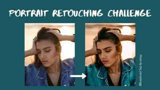featured image thumbnail for post Portrait Retouching Challenge
