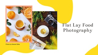 featured image thumbnail for post Flat Lay Food Photography Challenge