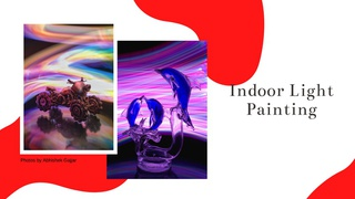 featured image thumbnail for post Indoor Light Painting