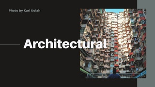 featured image thumbnail for post Architectural - Photography Challenge