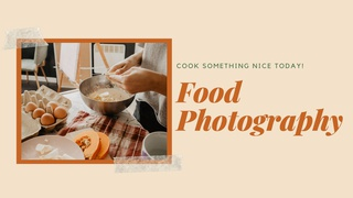 featured image thumbnail for post Food Photography Challenge