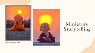 """featured image thumbnail for post """"Miniature Storytelling"""" - Photography challenge"""