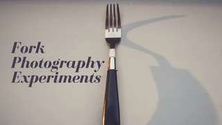 featured image thumbnail for post Fork Photography Experiments