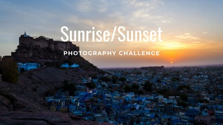 """featured image thumbnail for post """"Sunrise/Sunset"""" - Photography Challenge"""
