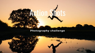 """featured image thumbnail for post """"An Action Shot"""" - Photography Challenge"""