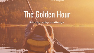 """featured image thumbnail for post """"The Golden Hour"""" - Photography Challenge"""