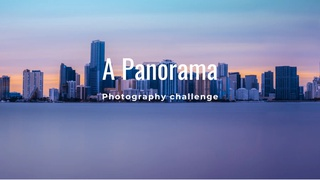 """featured image thumbnail for post """"A Panorama"""" - Photography Challenge"""