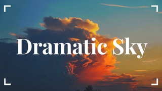 featured image thumbnail for post Dramatic Sky - Photography Challenge
