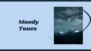 """featured image thumbnail for post """"Moody Tones"""" - Photography Challenge"""