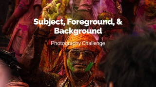 """featured image thumbnail for post """"Foreground, subject, and background"""" - Photography Challenge"""
