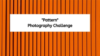 """featured image thumbnail for post """"Capture a Pattern"""" - Photography Challenge"""