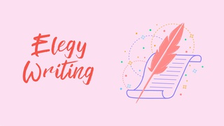featured image thumbnail for post Elegy Writing Challenge