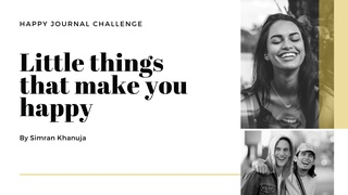 featured image thumbnail for post Little Things That Make You Happy - Daily Writing Challenge