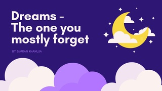 """featured image thumbnail for post """"Dreams"""" - Writing Challenge"""