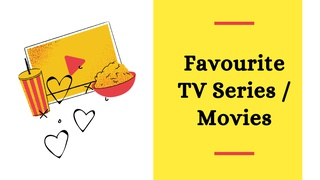 featured image thumbnail for post Favourite TV Series/Movies - Writing Challenge