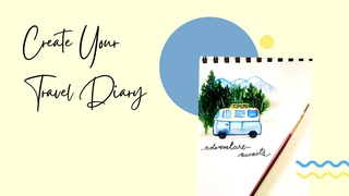 featured image thumbnail for post Create Your Travel Diary - Art Challenge