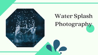 featured image thumbnail for post Water Splash - Photography Challenge
