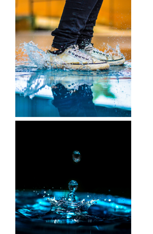 Sample Images for Water Splash - Photography Challenge