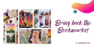 featured image thumbnail for post Bring Back The Bookmarks - Art Challenge