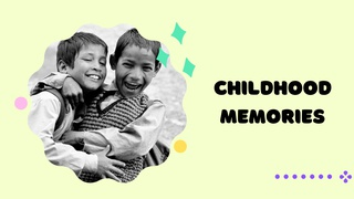 featured image thumbnail for post Childhood Memories - Photography Challenge