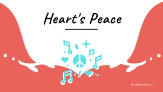 featured image thumbnail for post Heart's Peace - Writing Challenge