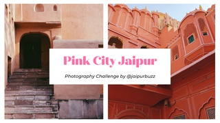 featured image thumbnail for post Pink City Jaipur - Photography Challenge